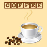 Φλιτζάνι του καφέ Ελεύθερη απεικόνιση δικαιώματος