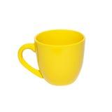 φλυτζάνα τσαγιού κίτρινη στοκ φωτογραφία με δικαίωμα ελεύθερης χρήσης
