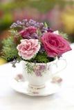 φλυτζάνα τσαγιού λουλ&omicro Στοκ Φωτογραφία