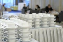 φλυτζάνια καφέ σπασιμάτων Στοκ φωτογραφία με δικαίωμα ελεύθερης χρήσης