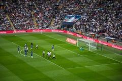 ΦΛΥΤΖΆΝΙ η ημιτελική Chelsea β FA Τόττεναμ Στοκ Φωτογραφίες