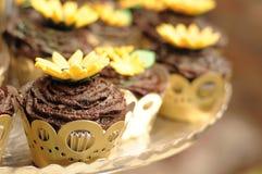 φλυτζάνι κέικ Στοκ Εικόνες