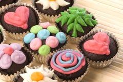 φλυτζάνι κέικ στοκ φωτογραφία