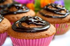 φλυτζάνι κέικ choc Στοκ Φωτογραφίες