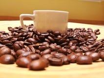 Φλυτζάνι και καφές στοκ εικόνες
