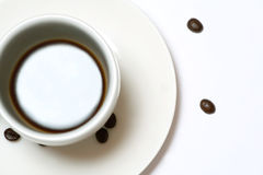 Φλυτζάνι και πιατάκι καφέ στοκ φωτογραφία με δικαίωμα ελεύθερης χρήσης
