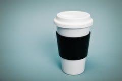 φλυτζάνι καφέ θερμικό στοκ φωτογραφία