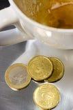 φλυτζάνι καφέ κενό Στοκ εικόνες με δικαίωμα ελεύθερης χρήσης