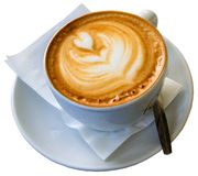 Φλυτζάνι καφέ με το expreso στοκ φωτογραφίες με δικαίωμα ελεύθερης χρήσης