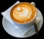 Φλυτζάνι καφέ με το expreso στοκ εικόνες