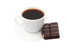 φλυτζάνι καφέ σοκολάτας Στοκ φωτογραφίες με δικαίωμα ελεύθερης χρήσης