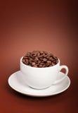 φλυτζάνι καφέ φασολιών Στοκ εικόνα με δικαίωμα ελεύθερης χρήσης