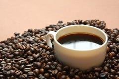 Φλυτζάνι με τον καφέ Στοκ Φωτογραφίες