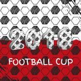 Φλυτζάνι ποδοσφαίρου της Ρωσίας 2018 Στοκ εικόνα με δικαίωμα ελεύθερης χρήσης