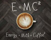 Φλυτζάνι του ενεργειακού καφέ στοκ φωτογραφία