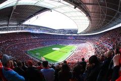 φλυτζάνι everton FA τελικό Λίβερπουλ του 2012 ημι εναντίον Στοκ φωτογραφία με δικαίωμα ελεύθερης χρήσης