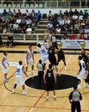 Φλυτζάνι FIBA Trentino: Ιταλία εναντίον του Καναδά Στοκ Εικόνες