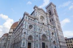 Φλωρεντία Duomo Di Σάντα Μαρία del Fiore Basilica βασιλικών Αγίου Mary του λουλουδιού στη Φλωρεντία, Ιταλία Στοκ Εικόνες