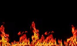 φλόγα ανασκόπησης Στοκ φωτογραφία με δικαίωμα ελεύθερης χρήσης
