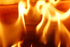 φλόγα ΙΙΙ πυρκαγιάς στοκ εικόνες