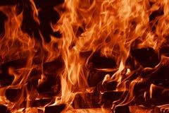 φλόγα πυρκαγιάς Στοκ φωτογραφία με δικαίωμα ελεύθερης χρήσης
