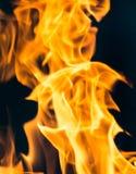 Φλόγα της πυρκαγιάς ως υπόβαθρο Στοκ φωτογραφία με δικαίωμα ελεύθερης χρήσης