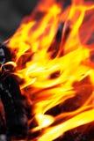 Φλόγα της πυρκαγιάς ως υπόβαθρο Στοκ φωτογραφίες με δικαίωμα ελεύθερης χρήσης