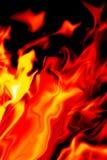 Φλόγα της πυρκαγιάς ως υπόβαθρο Στοκ εικόνες με δικαίωμα ελεύθερης χρήσης