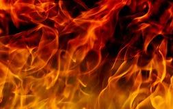 φλόγες πυρκαγιάς ανασκό&pi Στοκ εικόνα με δικαίωμα ελεύθερης χρήσης