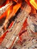 Φλόγες πυρκαγιάς Στοκ Φωτογραφία