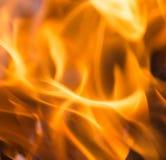 Φλόγες της πυρκαγιάς ως υπόβαθρο Στοκ εικόνα με δικαίωμα ελεύθερης χρήσης