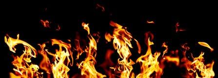 φλόγες Στοκ Φωτογραφία
