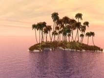 φοίνικας νησιών Στοκ Φωτογραφία