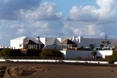 φοίνικας Lanzarote Μοντάνα baja Στοκ Φωτογραφίες