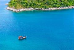 Φοίνικες στο νησί Phuket Στοκ φωτογραφία με δικαίωμα ελεύθερης χρήσης