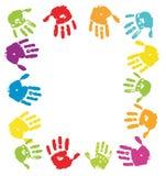 φοίνικες χρώματος ανασκό&p διανυσματική απεικόνιση