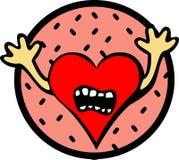 φοβισμένη αγάπη Στοκ εικόνα με δικαίωμα ελεύθερης χρήσης