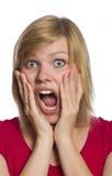 φοβισμένη απομονωμένη λε&upsil στοκ φωτογραφία με δικαίωμα ελεύθερης χρήσης