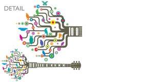 φοβιτσιάρεις κιθάρες Στοκ εικόνες με δικαίωμα ελεύθερης χρήσης