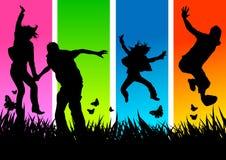 φοβιτσιάρεις νεολαίες ανθρώπων ελεύθερη απεικόνιση δικαιώματος