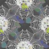 Φοβιτσιάρης άνευ ραφής υπόβαθρο ή σύσταση με το μοτίβο ομπρελών διανυσματική απεικόνιση