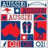 Φοβιτσιάρης κάρτα ημέρας της Αυστραλίας ελεύθερη απεικόνιση δικαιώματος