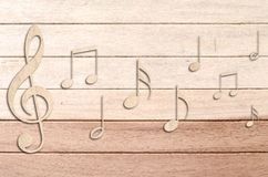 φοβιτσιάρης μουσική ανα&sig Στοκ Φωτογραφία