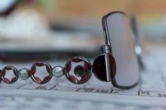 Φοβιτσιάρη γυαλιά στοκ φωτογραφία με δικαίωμα ελεύθερης χρήσης