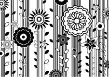 Φοβιτσιάρη λουλούδια διανυσματική απεικόνιση