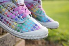 φοβιτσιάρη παπούτσια Στοκ φωτογραφίες με δικαίωμα ελεύθερης χρήσης