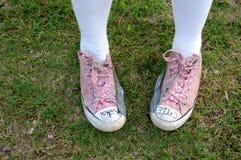 φοβιτσιάρη παπούτσια Στοκ εικόνα με δικαίωμα ελεύθερης χρήσης