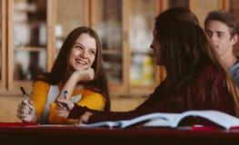 Φοιτητές πανεπιστημίου στην τάξη Στοκ Εικόνα