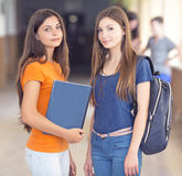 Φοιτητές πανεπιστημίου Στοκ Εικόνες