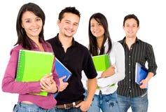 φοιτητές πανεπιστημίου Στοκ εικόνα με δικαίωμα ελεύθερης χρήσης